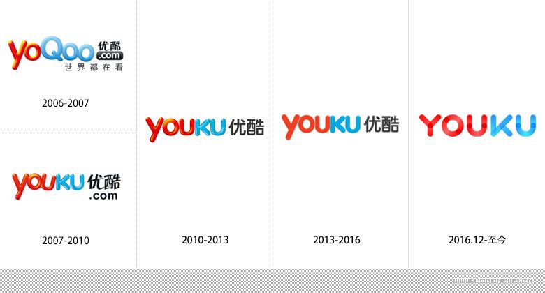 做为设计师的你,或许还能在优酷十年的logo升级中发现中国互联网十年