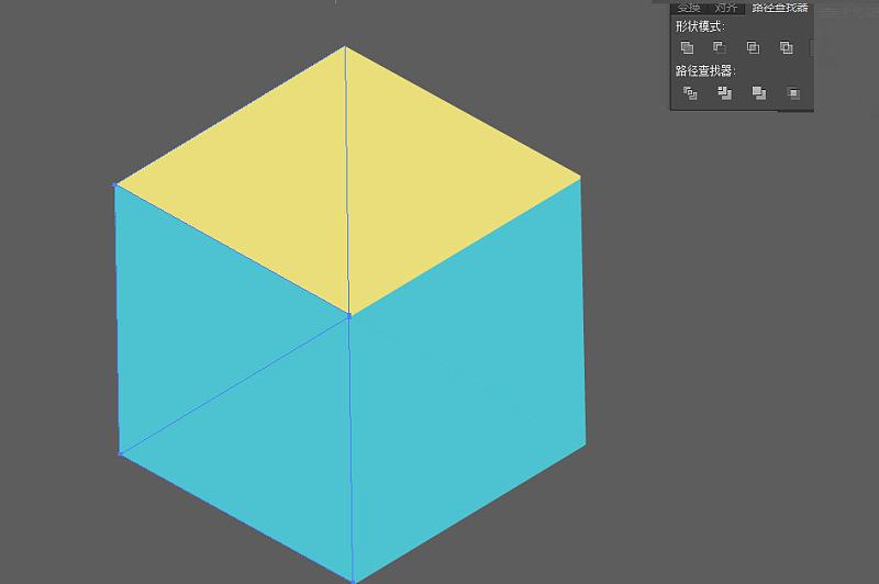 .每个地方颜色是有规律可寻的.-Illustrator绘制立体感的几何图形教程