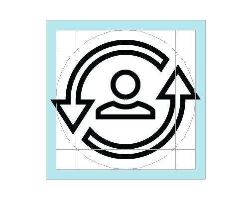 庭院网格在图标中的绿地(image布局圆形景观设计平面图cad图片