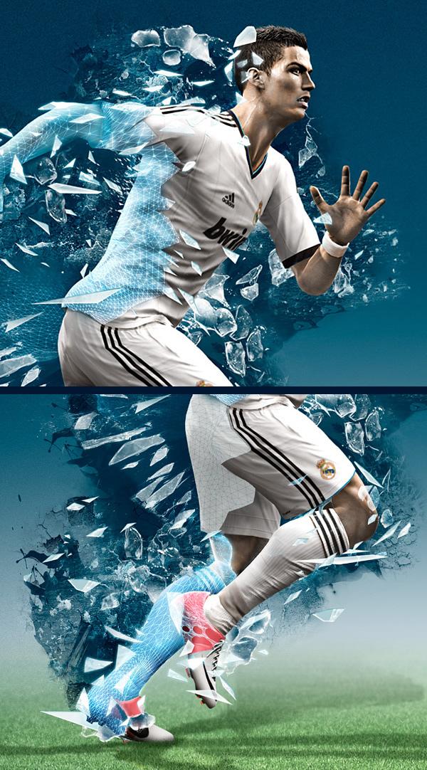 实况足球2013 Photoshop特效研究