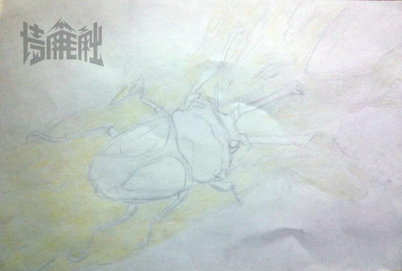 素描圆柱体明暗关系-阿姆叔最新彩铅画 教程贴 绘画 教程 墙角笔触 设图片