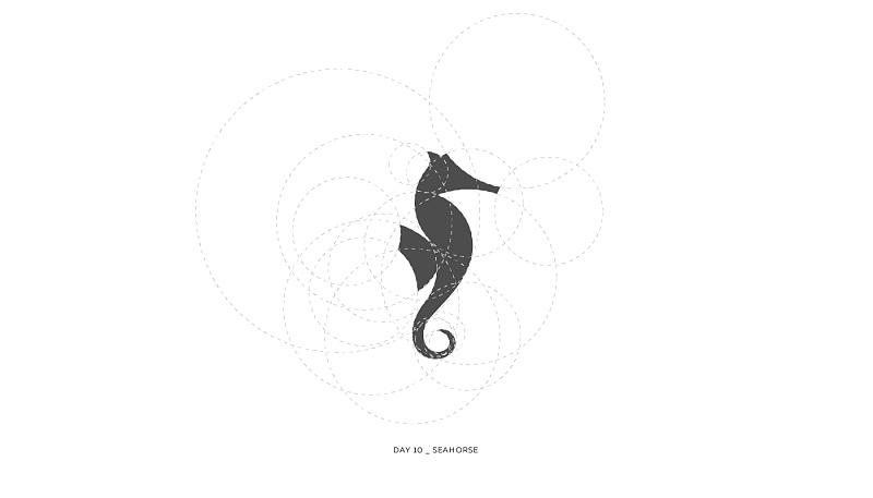 入党尺规提高+黄金比例作图Logo规范和档次(利用小技巧图片