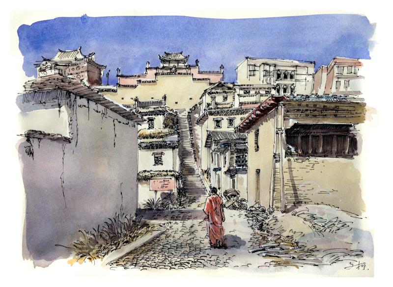 风景 古镇 建筑 旅游 摄影 800_585