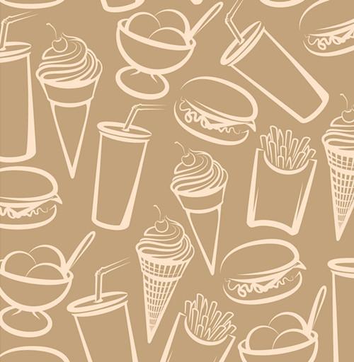 q版食物简笔画素描