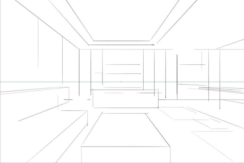 教程:室内手绘板快速表现(原创文章)
