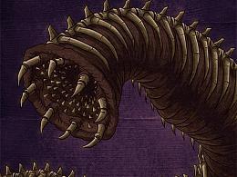 噬骨虫与攻城骨兽