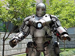 我的钢铁侠MK1盔甲