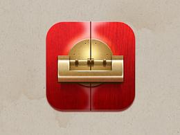朱漆铜器 中国风icon