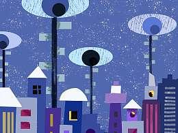城市之眼(蓝)