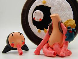 黏力仁|原创黏土系列01|《花宙 • 鼻》