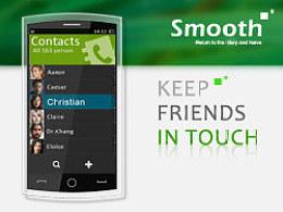 手机界面设计--Smooth