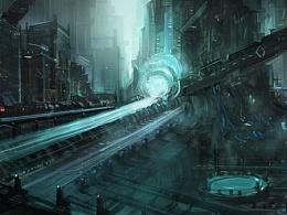 科幻机器基地