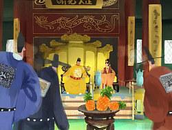 麦当劳第一部中国风动画广告《本宫凤堡》