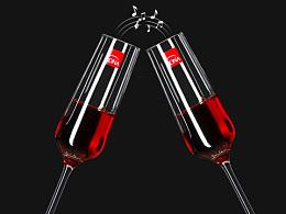 红酒杯详情:wine_glass: