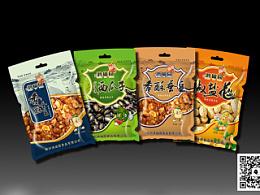 蚕豆包装袋设计-小设鬼品牌策划