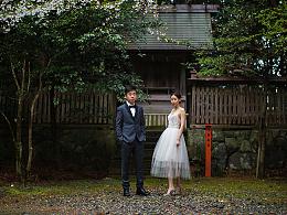 卜马婚纱  niu&xiu摄于日本