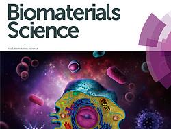 《Biomaterials Science》封面