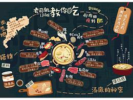 信息可视化——潮汕牛肉火锅