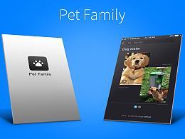 Pet Family APP界面原创
