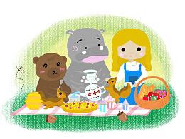 《森林动物与杯子的小故事》如何正确使用杯子?
