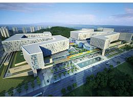 【城市景观规划设计】湘雅五医院景观设计