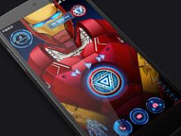 超级钢铁侠 动画锁屏设计
