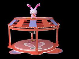 小兔子乖乖舞台美陈