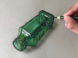 MZ彩铅3D手绘作品