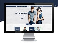 牛仔电商网页设计