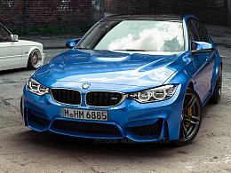 BMW M3 CGI 汽车摄影