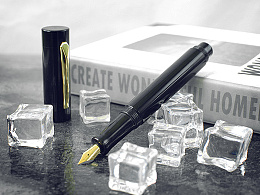 【野兽手工钢笔】沙漠铁木+黑橡胶
