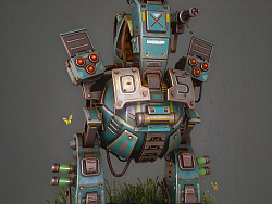 Stylized machine