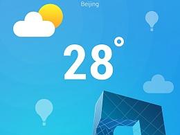 UI日常习作—Weather App界面渐变练习