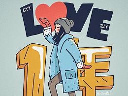 LOVE ONE YEAR