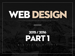 Web Design 2015/2016 Part 1