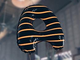 C4D 气球材质尝试