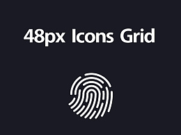 48px  Icons  Grid