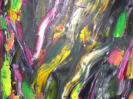 油画创作:通感之华美、艳丽、艳美