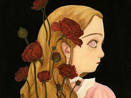 爱丽丝与花