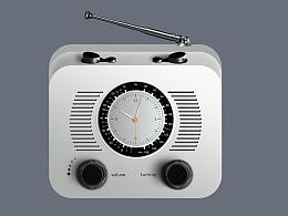 收音机临摹