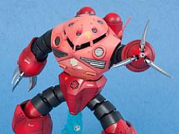 小改HG夏亚专用魔蟹--《有角才有三倍速!!》