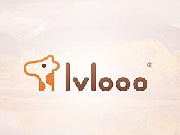 《旅鹿 lvlooo》标志设计项目展示