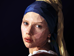 致敬维梅尔——戴珍珠耳环的少女