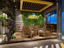MEET I-CAFE遇网咖柳州店室内设计方案