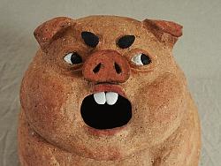 悪豬牌陶物