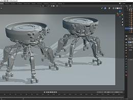 蜘蛛战斗机器人