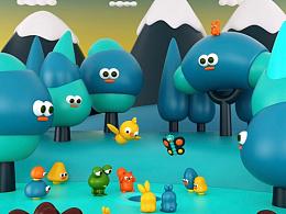 西班牙IP角色设计师Cesc Grane为儿童项目进行角色设计