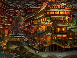 古镇系列:天河寨