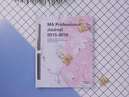 MA Professional Journal 2015-2016