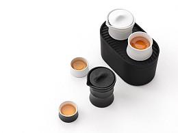 性冷淡风低调来袭:轻刻M1轻便型茶具(泊喜新品)